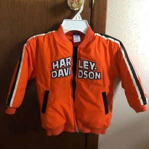 Toddler boy Harley Davidson coat Sz 3x